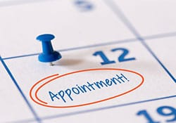 Image of appointment calendar