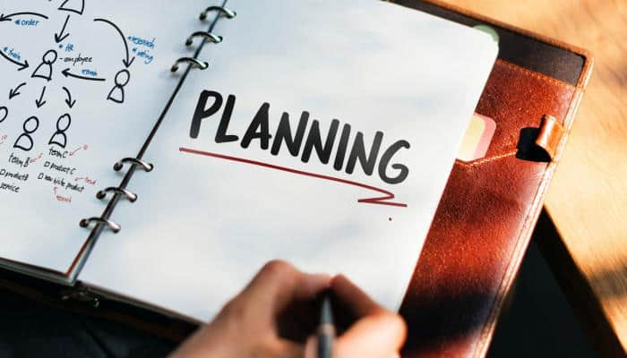 """open planner with """"planning"""" emphasized"""