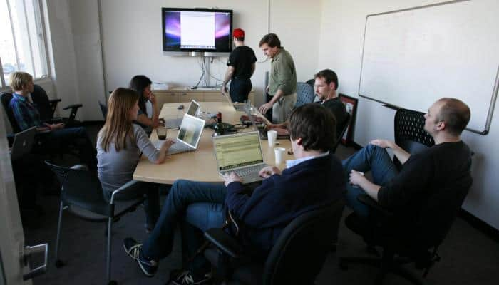 Image of people in meeting