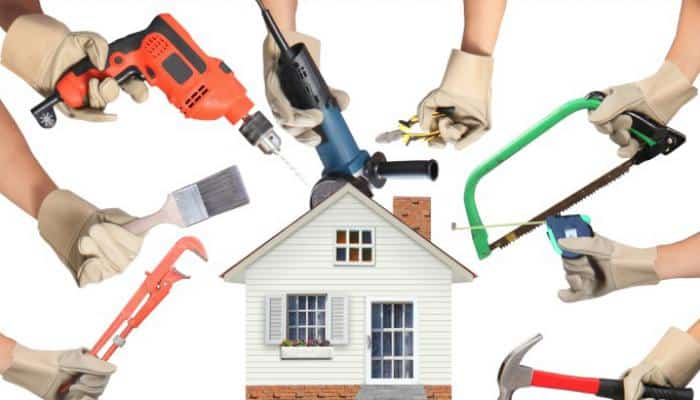 Image of house contractors