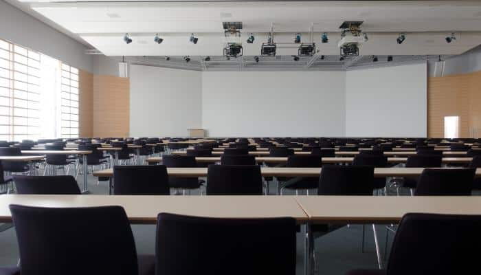 Image of empty meeting space