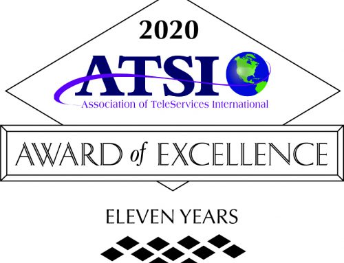 Call Experts wins coveted ATSI Award of Excellence for the 11th year