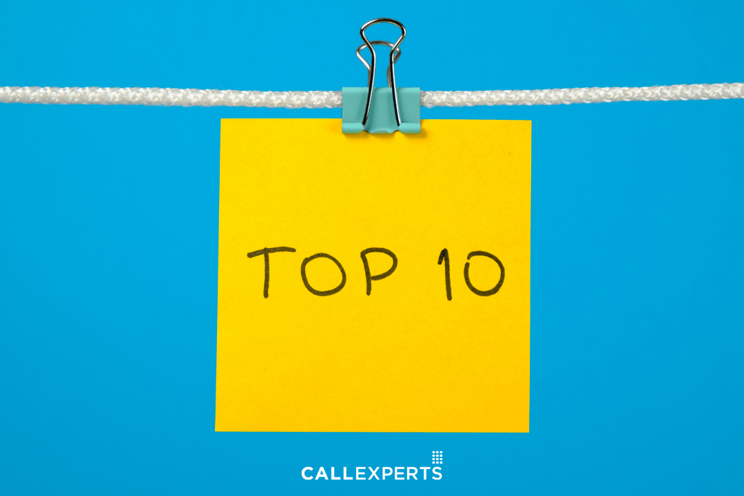 Top 10 list - how to find the right contact center partner